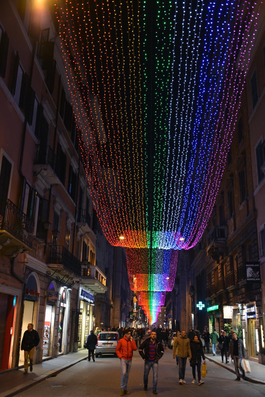 Rome 13 JAN 2014 RAINBOW STREET 1