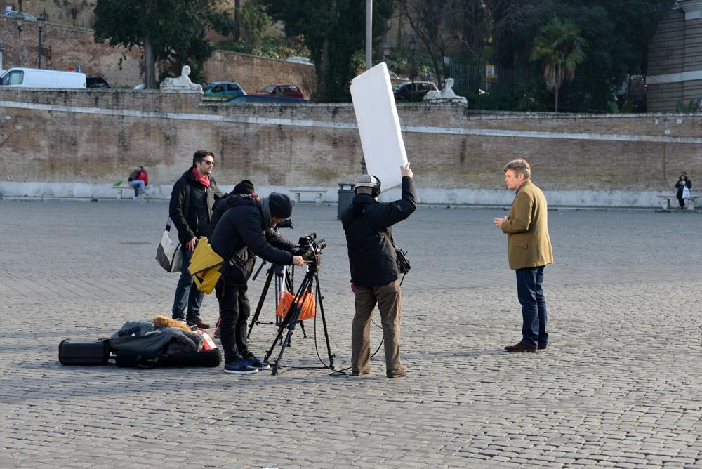 Rome 13 JAN 2014 TV 1