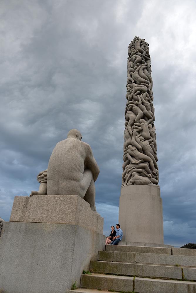 10 June OSLO Norway 2014 81 VIGELAND Monument 12