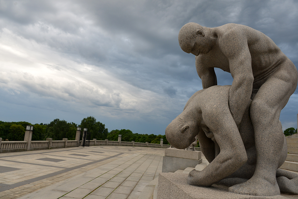 10 June OSLO Norway 2014 81 VIGELAND Monument 14