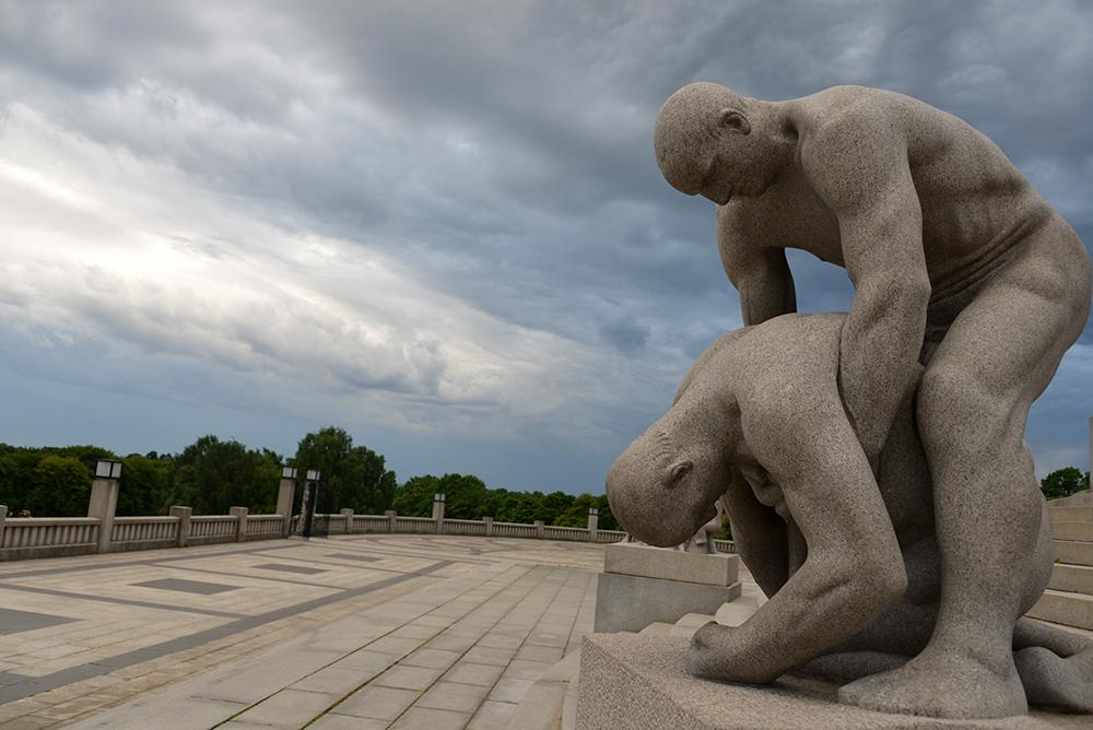 10 June OSLO Norway 2014 81 VIGELAND Monument 14