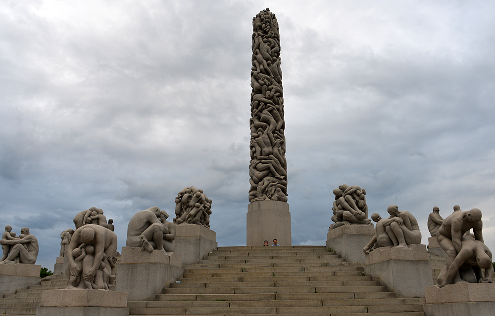 10 June OSLO Norway 2014 81 VIGELAND Monument 20