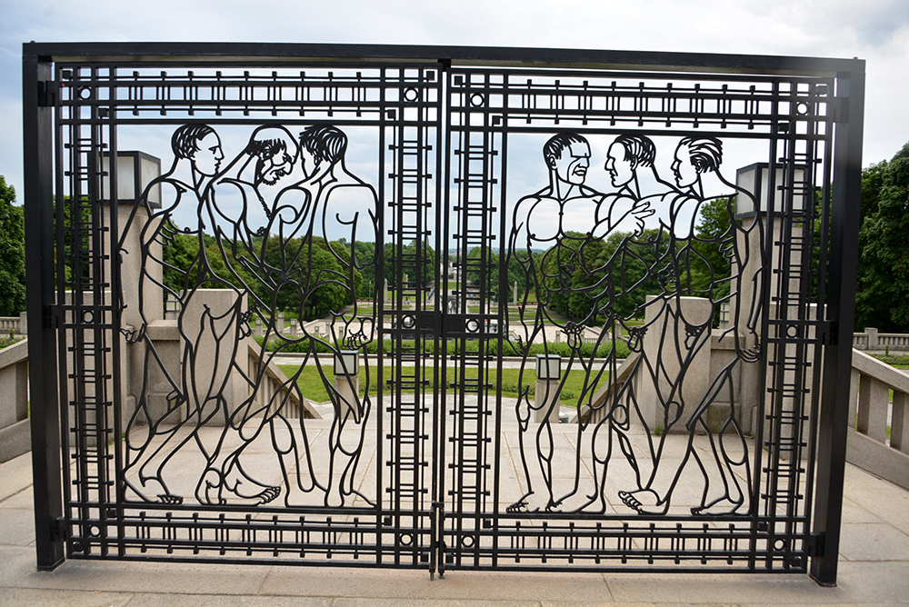 10 June OSLO Norway 2014 81 VIGELAND Monument 24