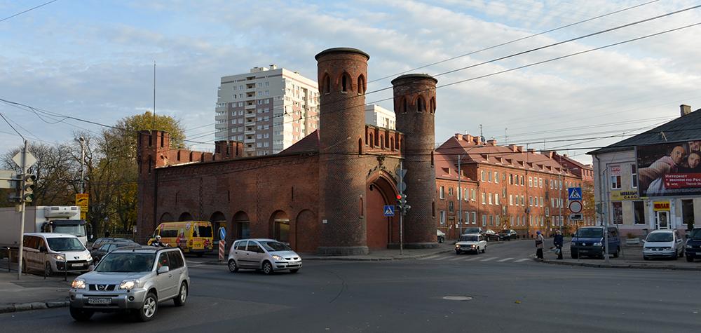Калининград ворота 3 длина