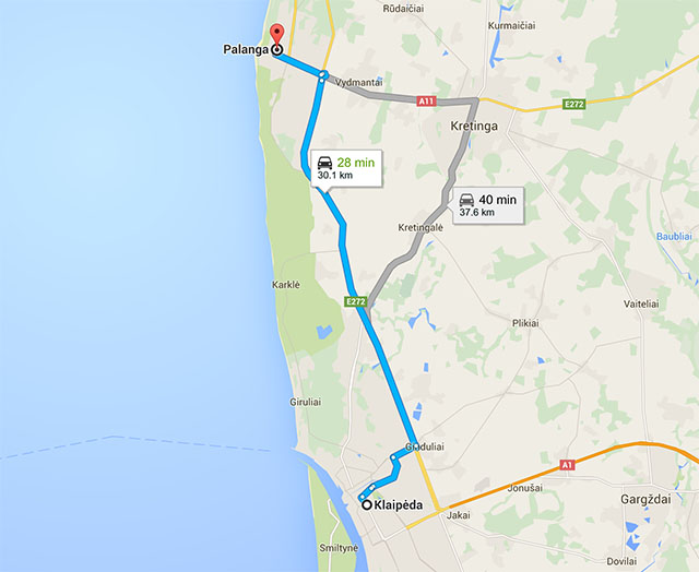 Путешествие в Литву