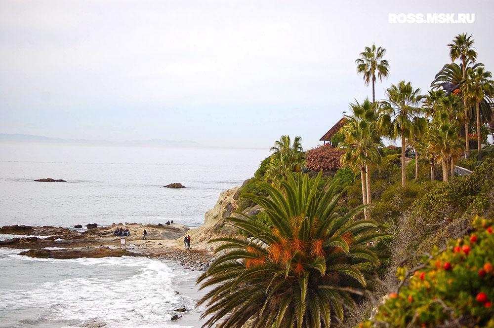 Путешествие в Америку: Калифорния зимой – Лагуна-Бич