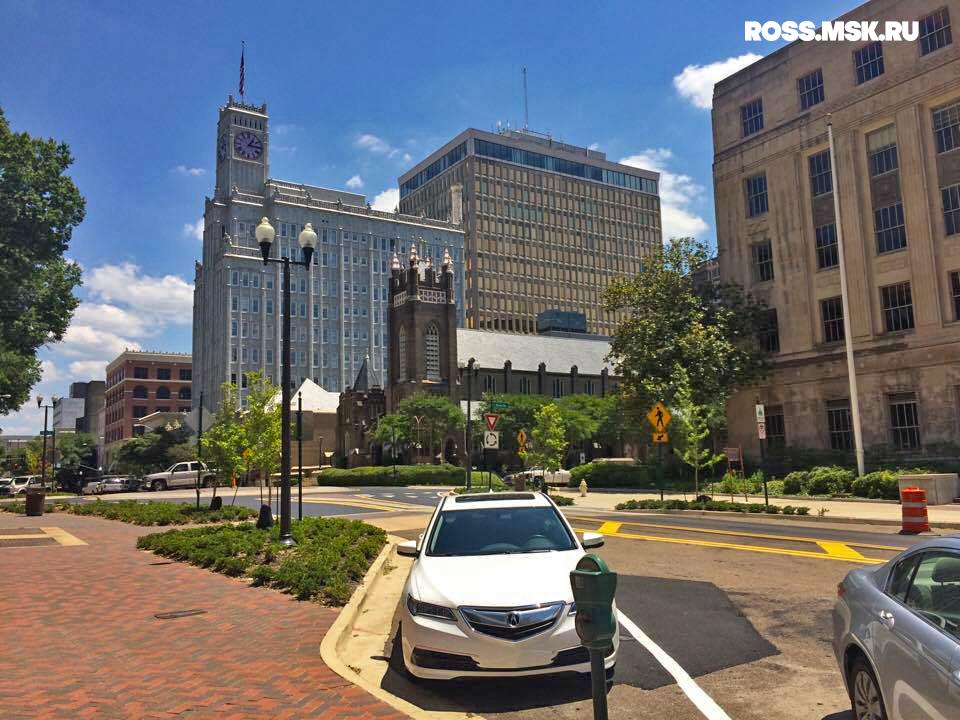 Путешествие в Америку – Джексон, столица штата Миссисипи